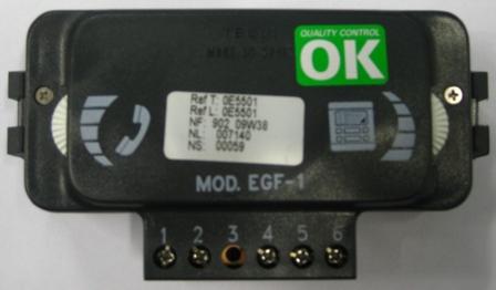 0E5501 Grupo Fonico EGF-1 portero convencional