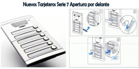 Tarjeteros Serie 7
