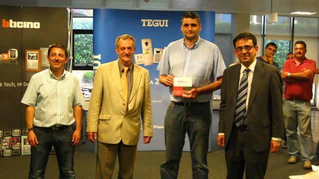 Presentaci N Tarifa Tegui Y Bticino 2010 Distel