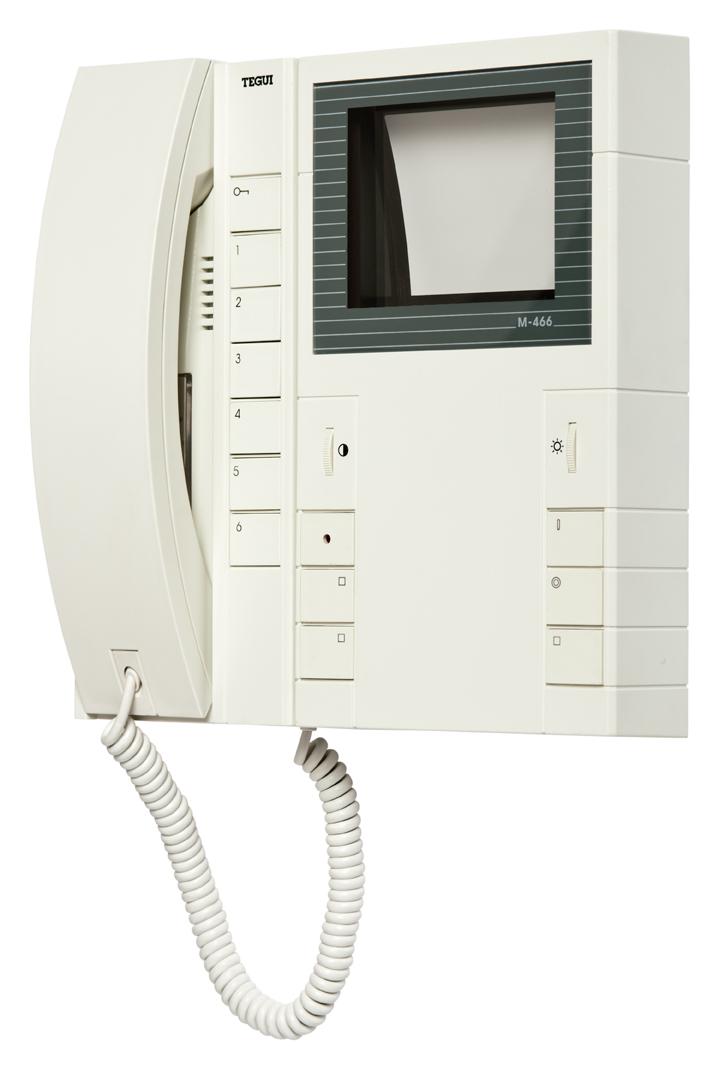 Monitor Tegui M 466 Y Telefono T 306 V Deoporteros Tegui