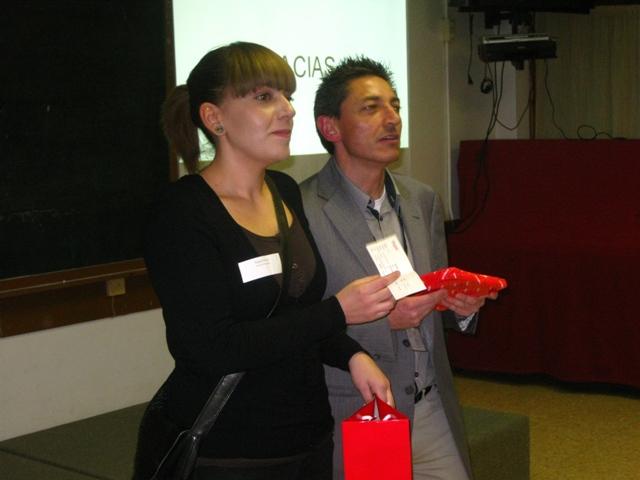 Raquel Parrás y Carlos Alonso